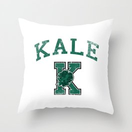 University of Kale Throw Pillow