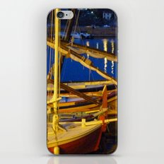 Night in the Harbour iPhone & iPod Skin