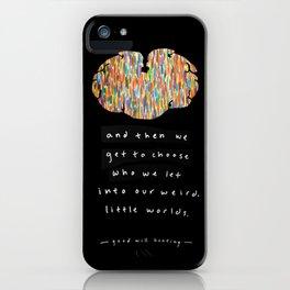 Weird Little Worlds iPhone Case