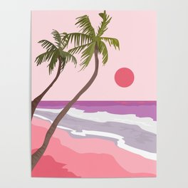Tropical Landscape 01 Poster
