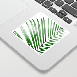 Palm Leaf Print, Tropical Leaf Print, Palm Art Print, Palm Tree Art, Beach Decor, Minimalist Art, Mo Sticker