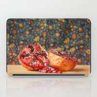 pomegranate iPad Cases featuring Pomegranate by Marie Carr