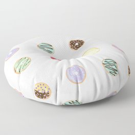 Donut Worry Floor Pillow