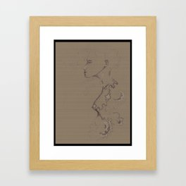 Its been awhile....hasn't it? Framed Art Print