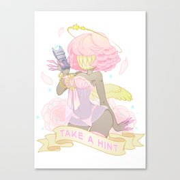 Take a Hint! Canvas Print