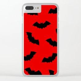 Vampire Bats Clear iPhone Case