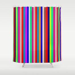 Digital Human Freight 8 Shower Curtain