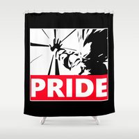 pride Shower Curtains featuring Pride by TxzDesign