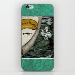 Canned Songs - Mermaid Chant iPhone Skin
