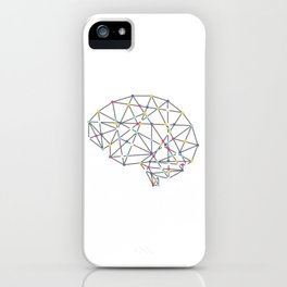 Brainy Tee For Smart People T-shirt Design Intellect Intellectual Intelligence Mind Mentality iPhone Case