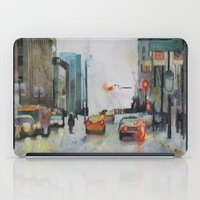 vancouver iPad Cases featuring Vancouver Blues by Sandrine Pelissier