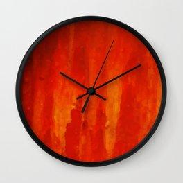 Lapeda Textile Art - 15 Wall Clock