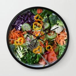 Vegan summer II Wall Clock