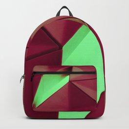 Dark Red & Kryptonite by Brian Vegas Backpack