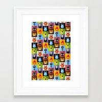 nausicaa Framed Art Prints featuring Miyazaki's by badOdds