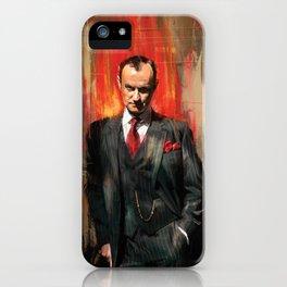 Mycroft Holmes iPhone Case