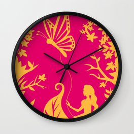 Thumbelina Wall Clock