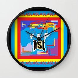 I Open Heart ASL Wall Clock