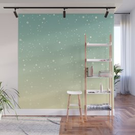 First Snow Wall Mural