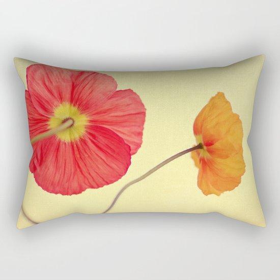 Les Jolies Fleurs Rectangular Pillow