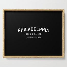 Philadephia - PA, USA (Arc) Serving Tray