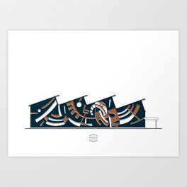 CCS_Ciencias Art Print
