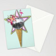 DISCO ICE CREAM Stationery Cards