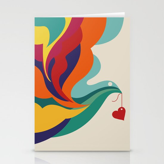 Love Message Stationery Cards