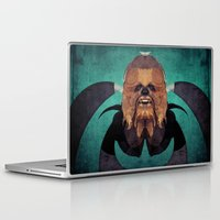 chewbacca Laptop & iPad Skins featuring Chewbacca by lazylaves