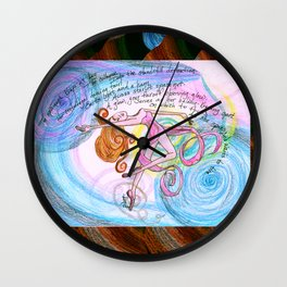 Blitzar Girl Wall Clock