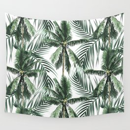 South Pacific palms Wall Tapestry