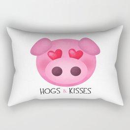 Hogs & Kisses Rectangular Pillow