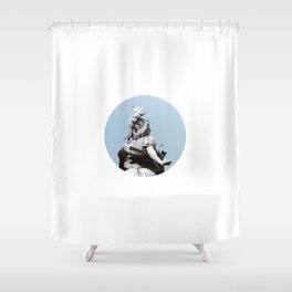 cheval Shower Curtain