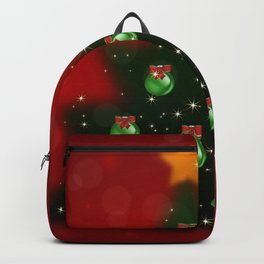 Christmas tree with background Backpack