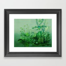 Travelling Plants 1+2 Framed Art Print