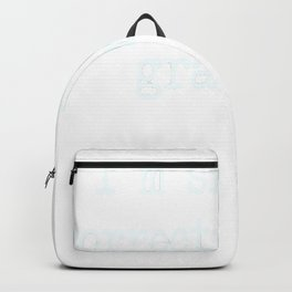 I'm Silently Correcting Your Grammar. Backpack