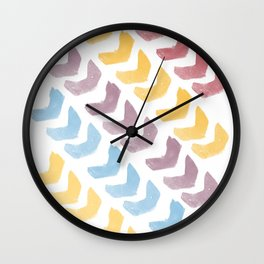 Lemon Meringue V Wall Clock