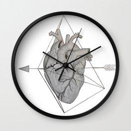 Corazón Roto Wall Clock