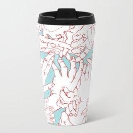 Helping Hands Metal Travel Mug