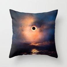 Eclipse Throw Pillow