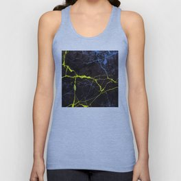 Beyond Gold and Blue Marble Unisex Tank Top