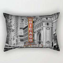 CHICAGO State Street Rectangular Pillow