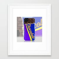 chocolate Framed Art Prints featuring Chocolate by Nicklas Gustafsson