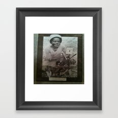 Guerilla Clone A-Side Framed Art Print