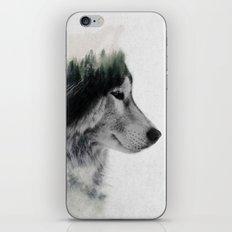 Wolf Stare iPhone Skin