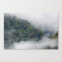 fog Canvas Prints featuring Fog by Michelle McConnell