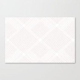 skip and jump pink  Canvas Print