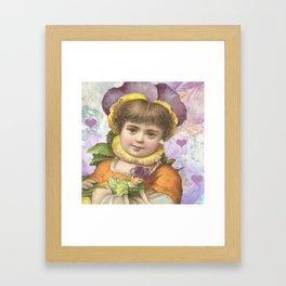 Vintage Child Framed Art Print