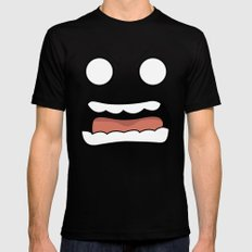 Scary Face Mens Fitted Tee Black MEDIUM