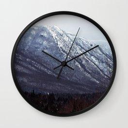 Squid Mountain Wall Clock